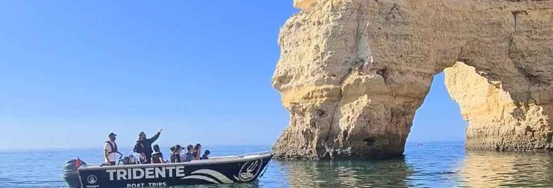 Balade en bateau privé en Algarve