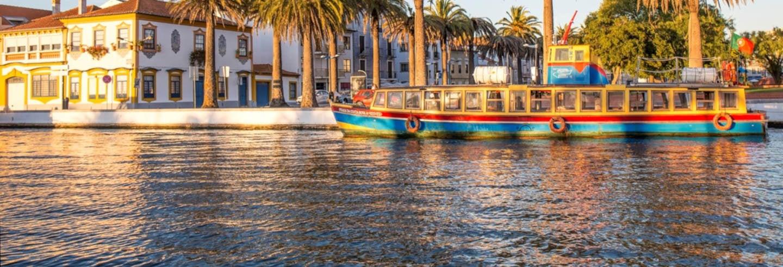 Paseo en barco por la ría de Aveiro