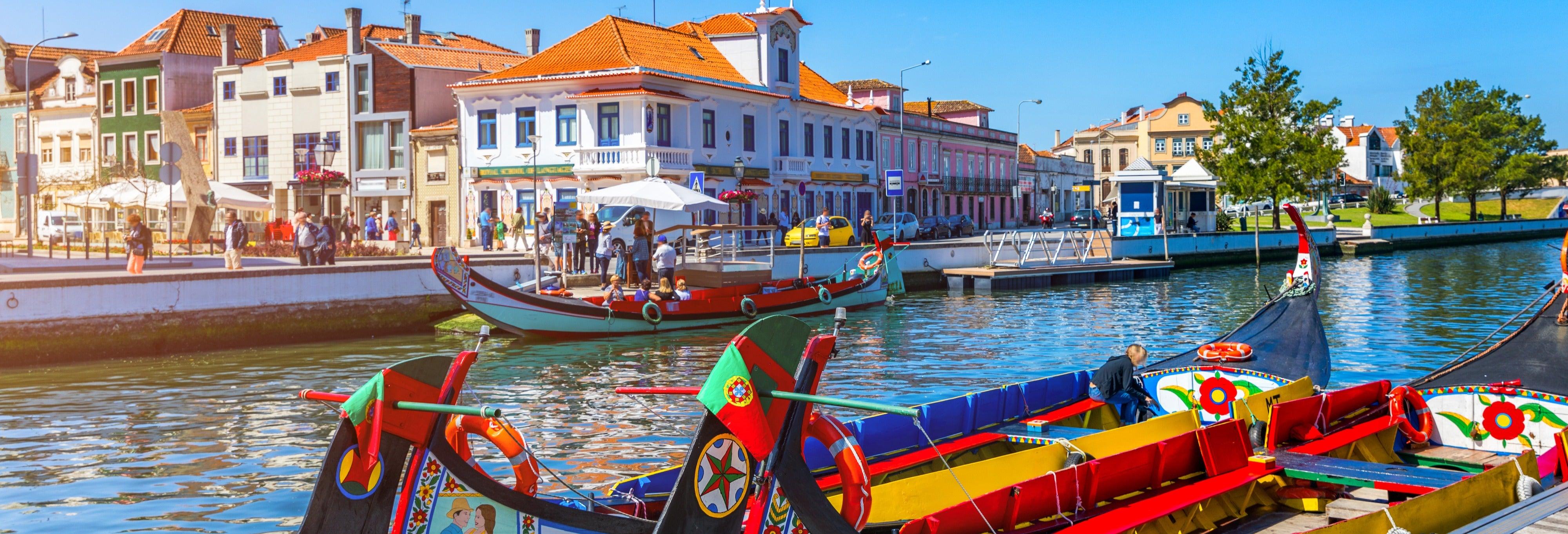 Tour privado por Aveiro com guia em português