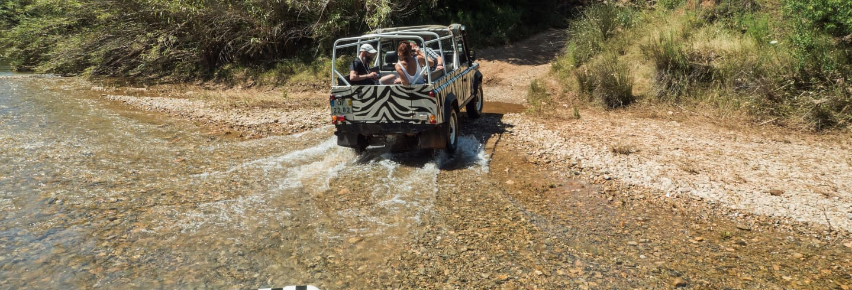 Jeep safari pelo oeste do Algarve