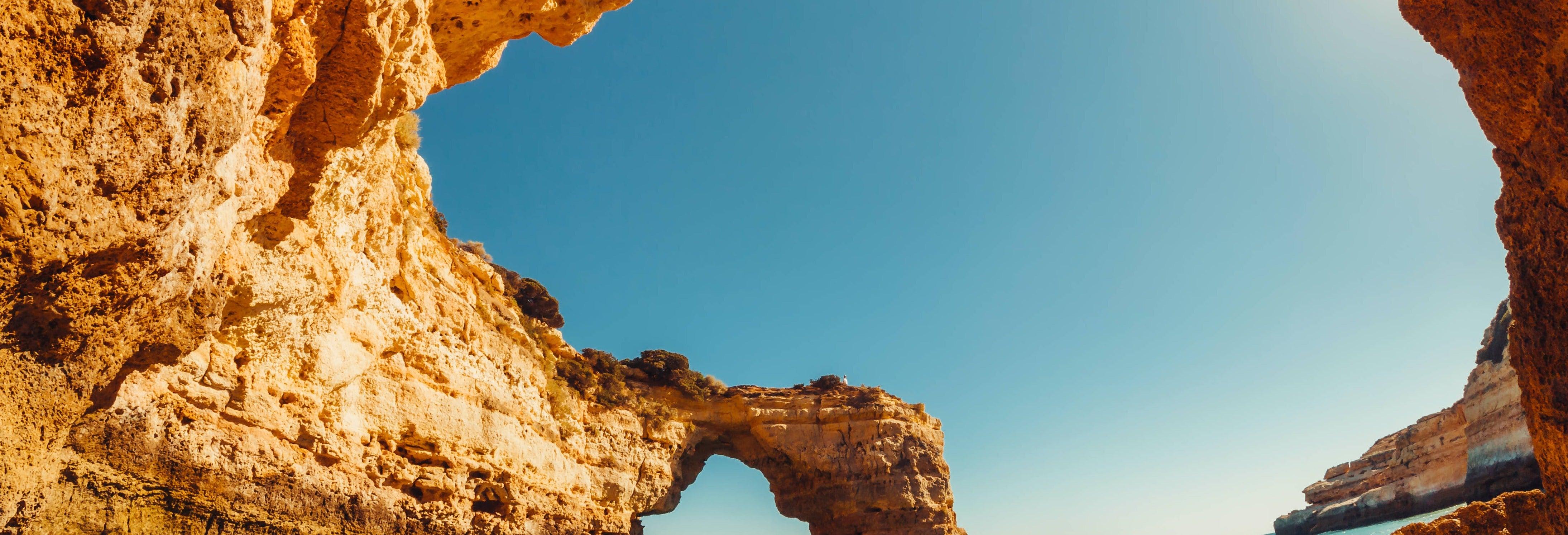 Paseo en barco privado por el Algarve