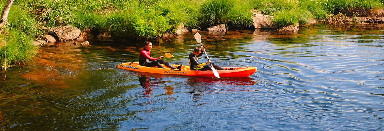 Tour en kayak por el Parque Nacional Peneda-Gerês