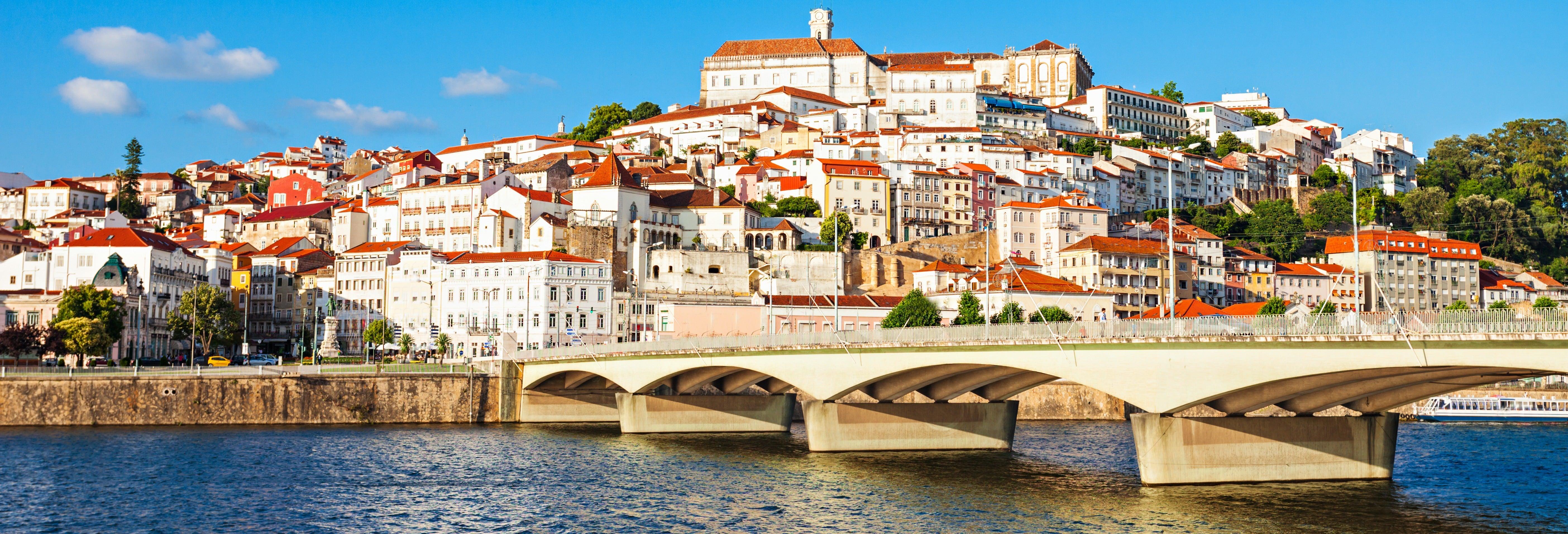Passeio de barco por Coimbra