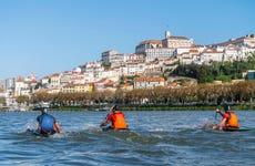 Tour en kayak por el río Mondego