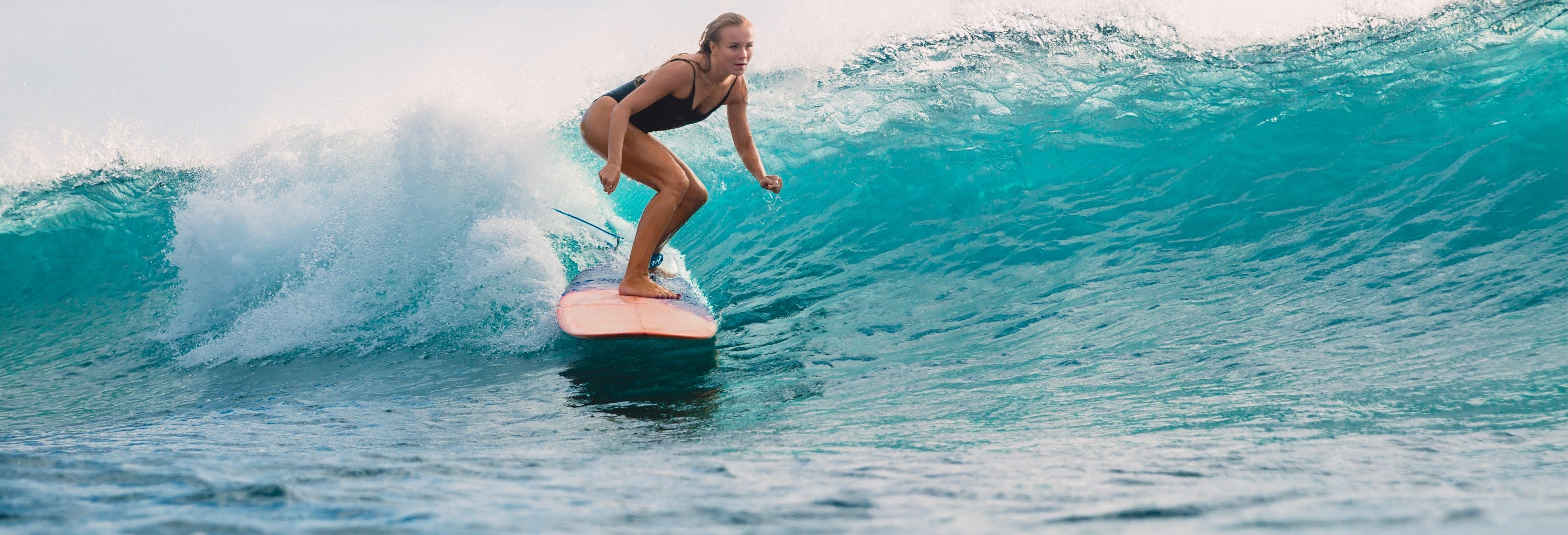 Aula de surfe em Esposende