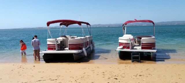 Excursion en catamaran aux îles de la Ria Formosa