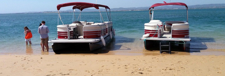Excursión en catamarán a las islas de la Ría Formosa