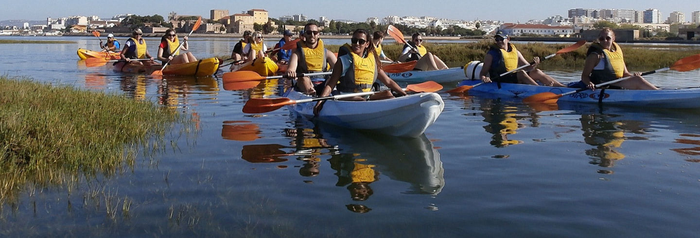 Algarve Kayak Tour: Ria Formosa