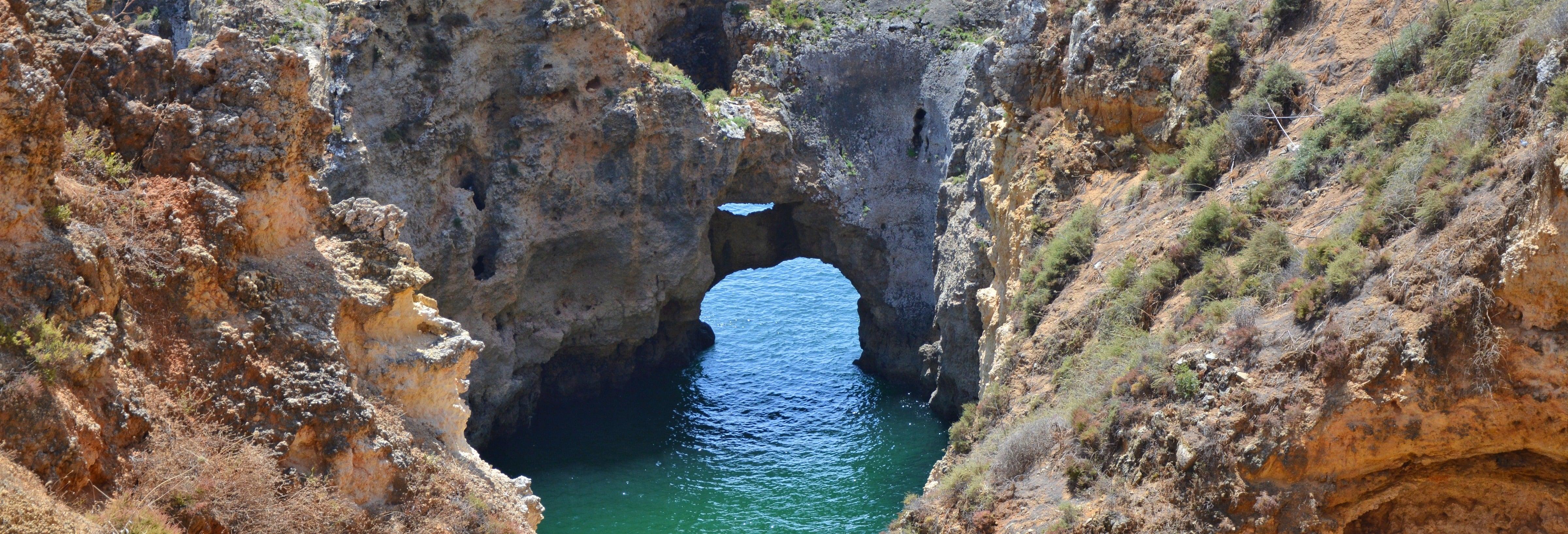 Paseo en barco a las cuevas de Ponta da Piedade