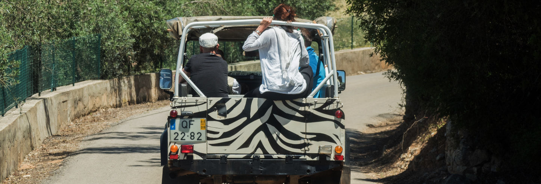Jeep safari por el oeste del Algarve