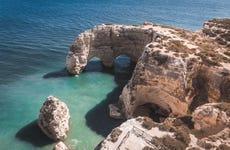 Paseo en barco por el Algarve y las cuevas de Benagil
