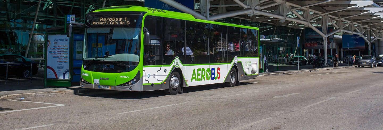 Ônibus entre o aeroporto e Lisboa
