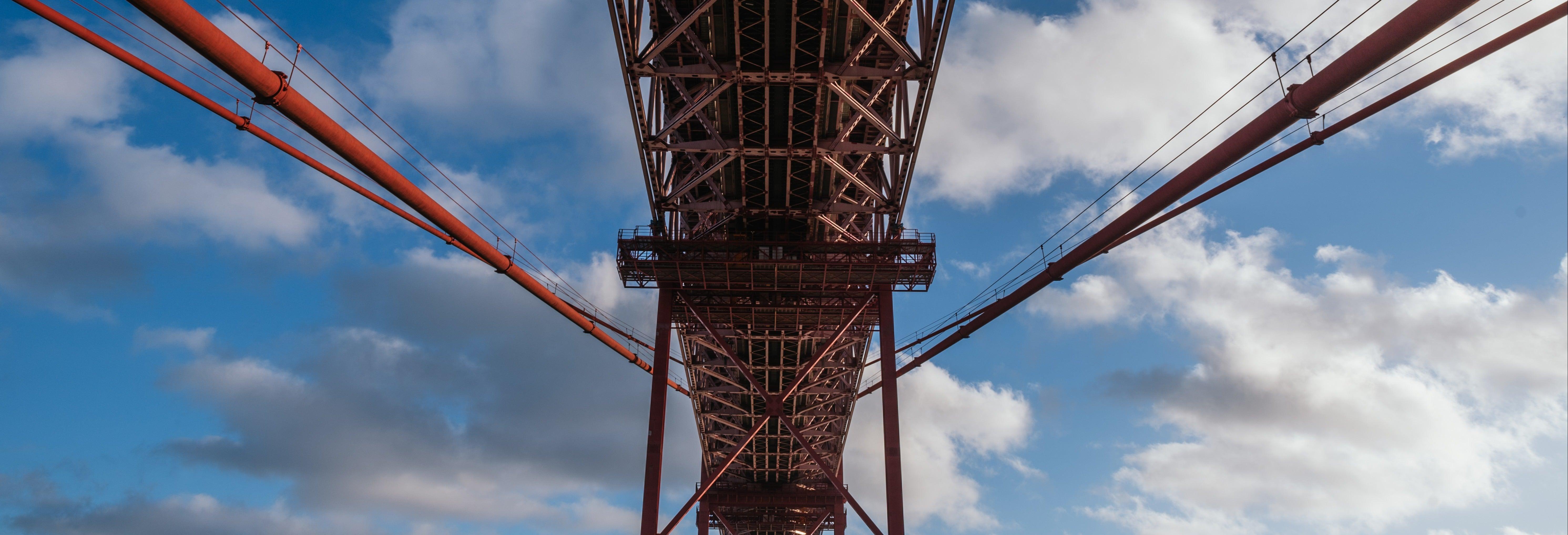 Entrada a la experiencia Pilar 7 del puente 25 de Abril