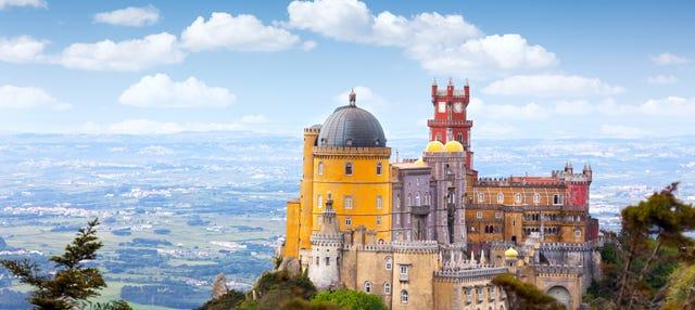 Excursion à Sintra et Cascais + Palais national de Pena