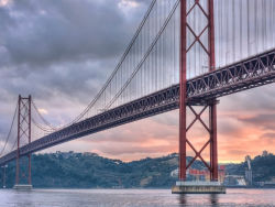 Puente 25 De Abril El Puente Colgante Más Largo De Europa