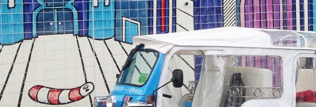 Visite privée dans Lisbonne en tuk-tuk