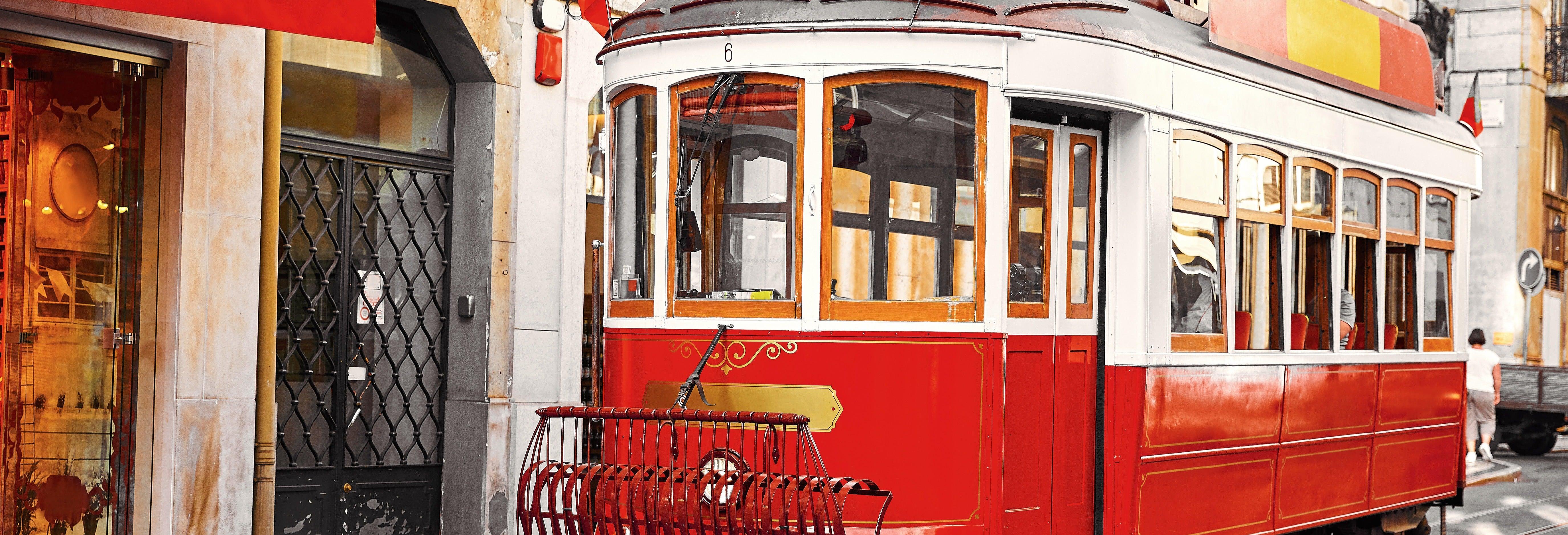 Tranvía turístico de Lisboa + Elevador de Santa Justa y funiculares