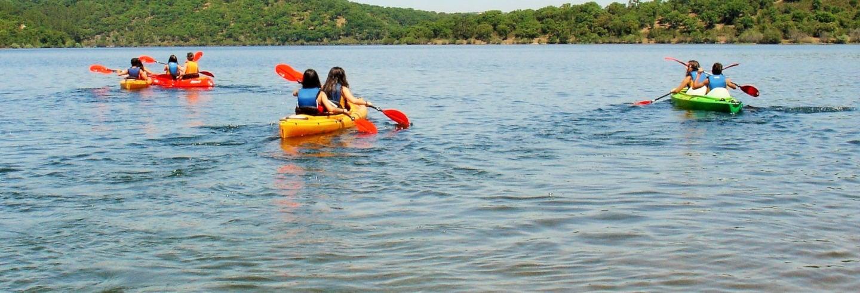 Albufera del Azibo Kayak Tour
