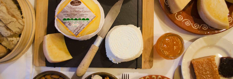 Prova de queijos na Serra da Estrela