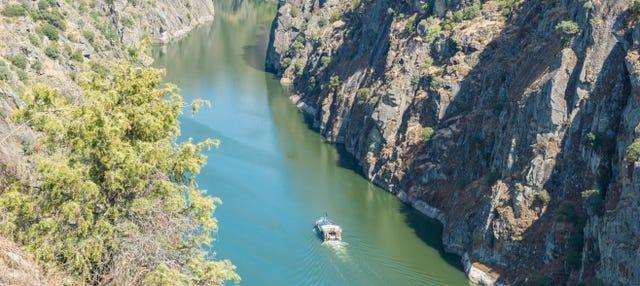 Paseo en barco por los Arribes del Duero