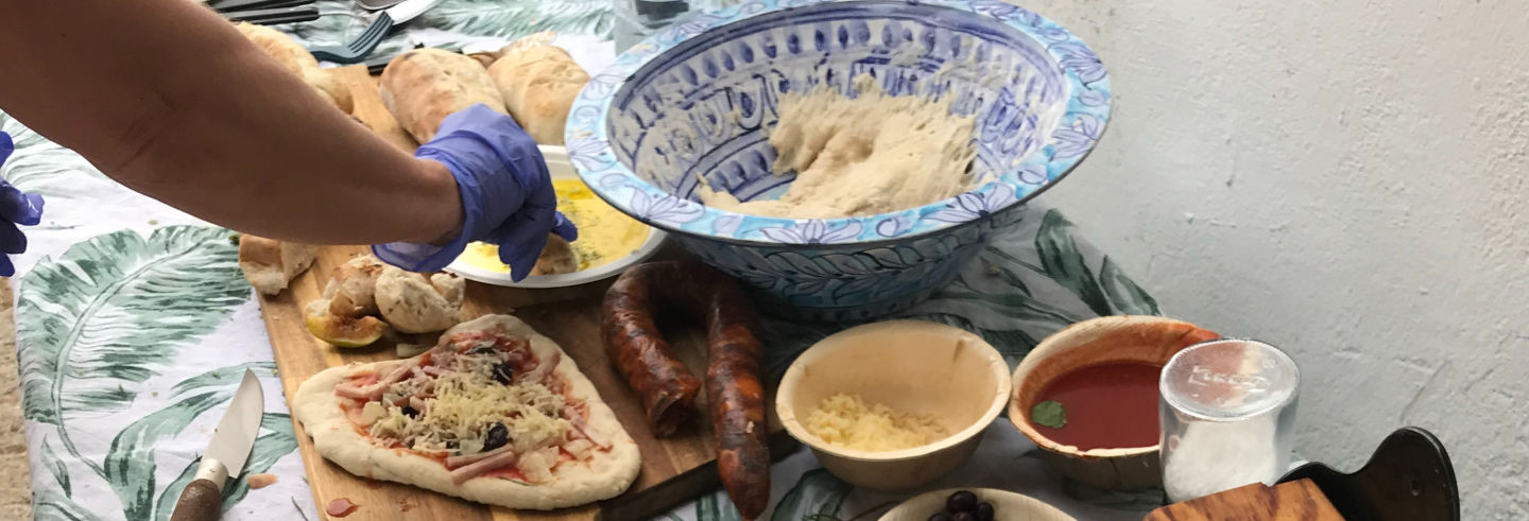 Taller de pan en Alferce