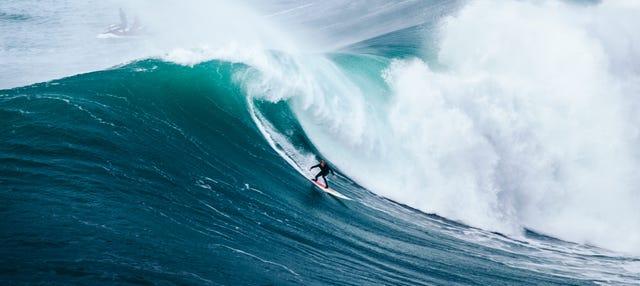 Curso de surf en Nazaré