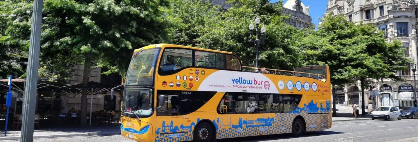 Porto Hop-On-Hop-Off Bus Tour