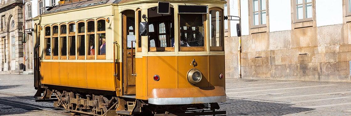 Bondes no Porto
