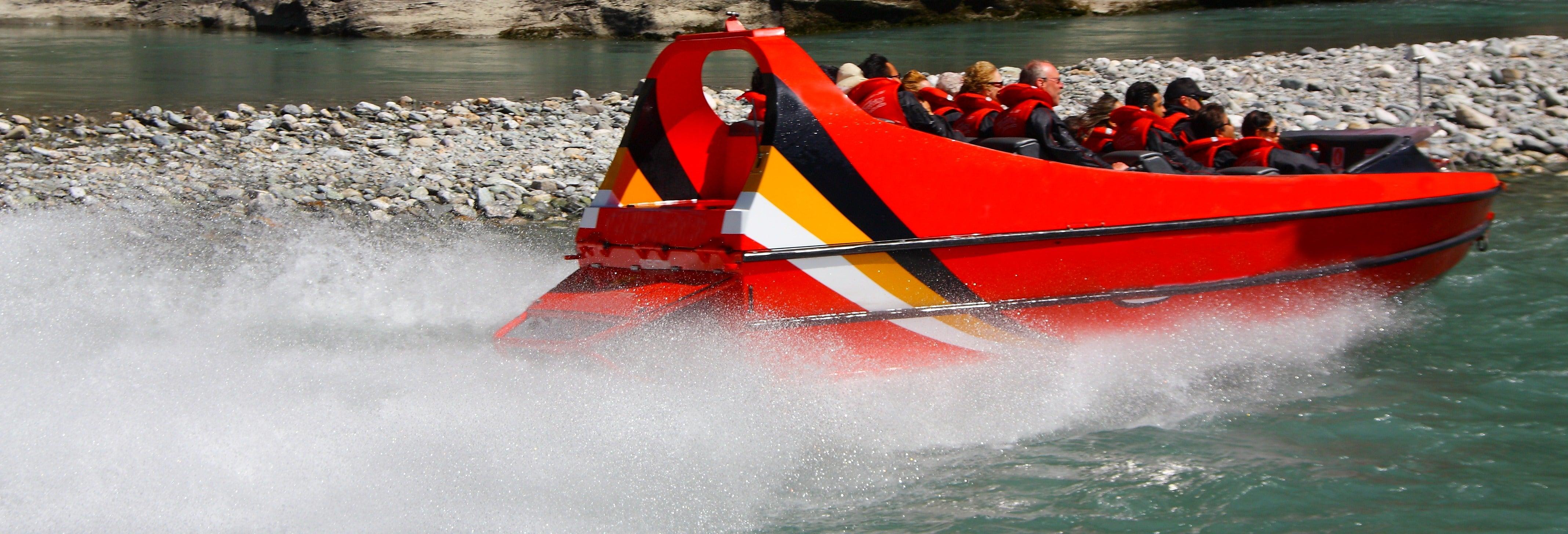 Experiencia Jet Boat en Oporto