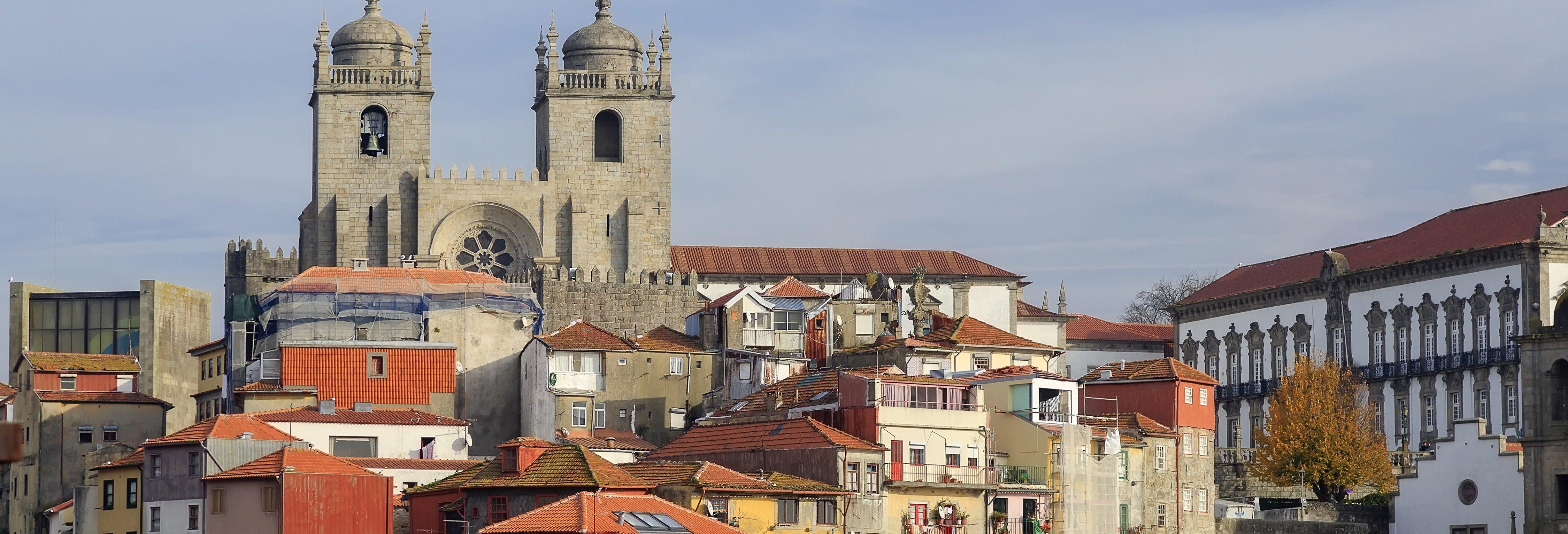 Visite guidée de Porto + Dégustation de vins