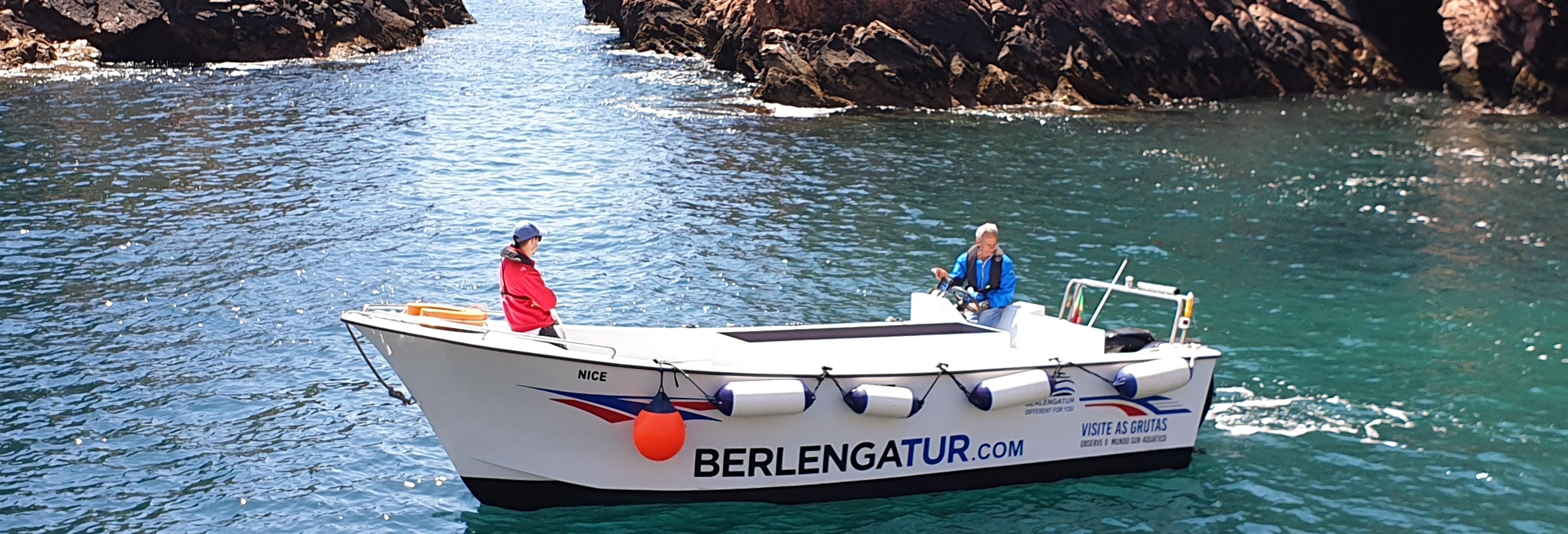 Escursione alle isole Berlengas e alle sue grotte