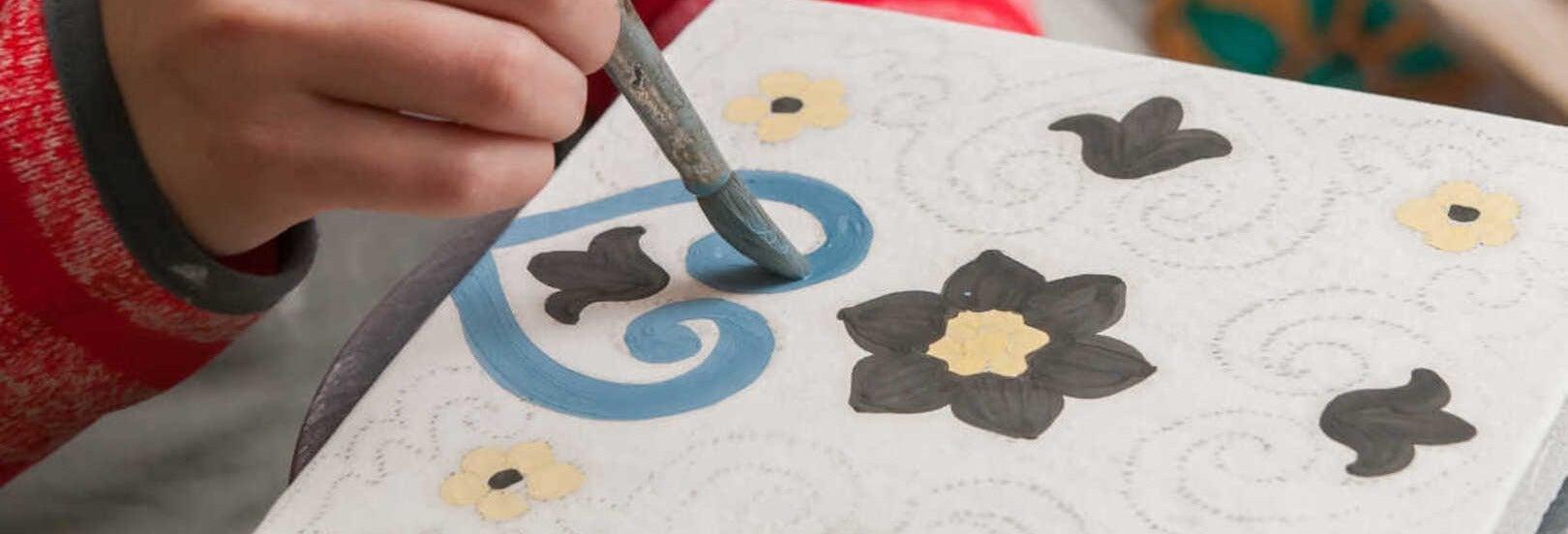 Peso da Régua Tile Painting Workshop