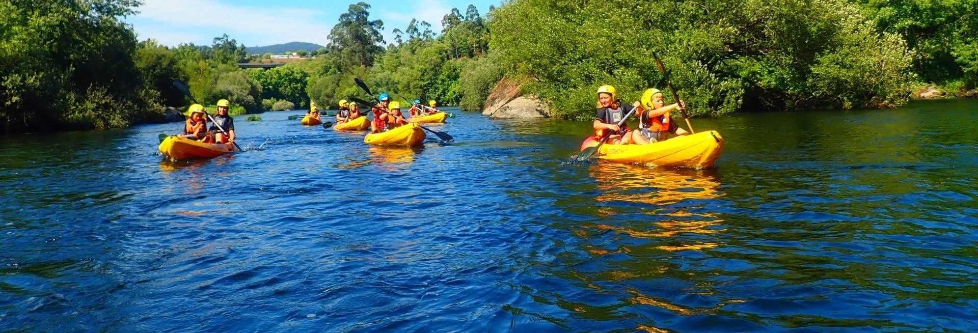 Kayak y paddle surf en el río Limia