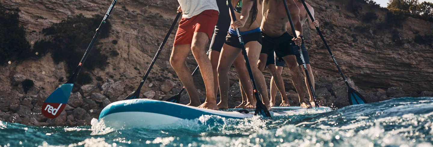 Tour in paddle surf sul fiume Limia