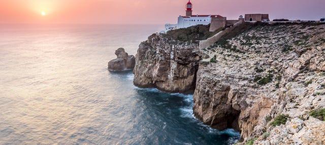 Tour en 4x4 por la costa de Sagres al atardecer