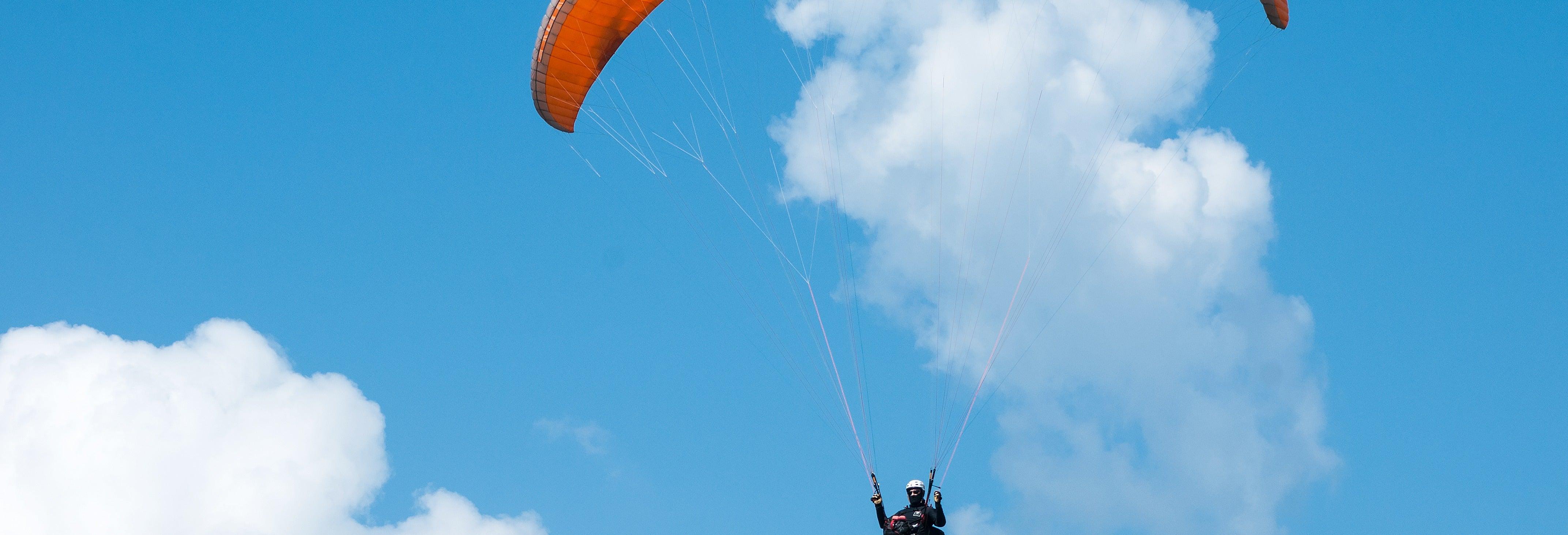 Paragliding in Sagres