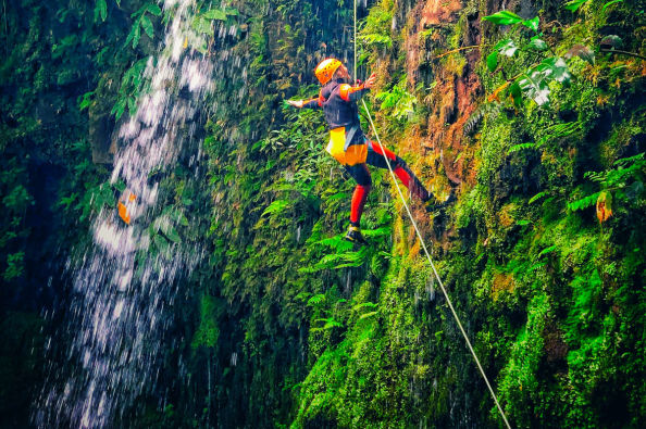 Canyoning in São Miguel