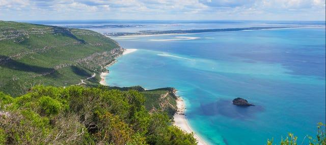 Snorkel y paddle surf en la playa de Arrábida