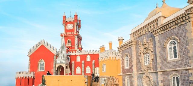 Entrada al Palacio da Pena y sus jardines