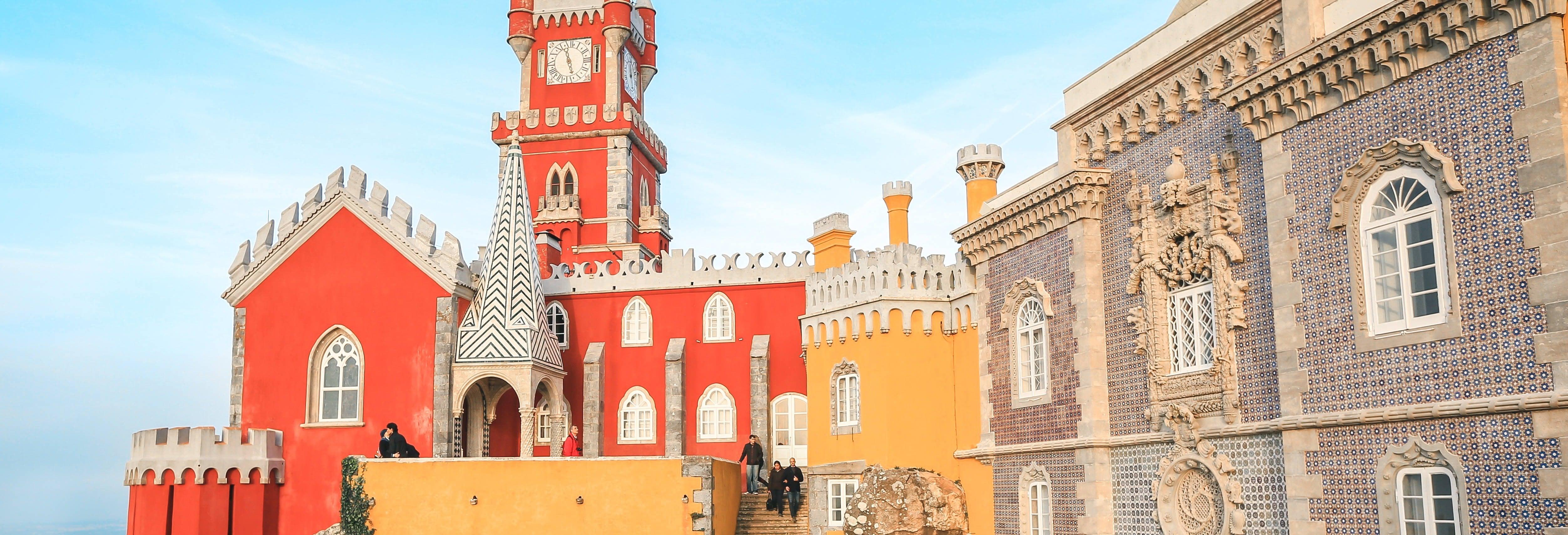 Ingresso do Palácio da Pena e seus jardins