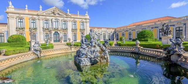 Entrada al Palacio Nacional de Queluz y sus jardines