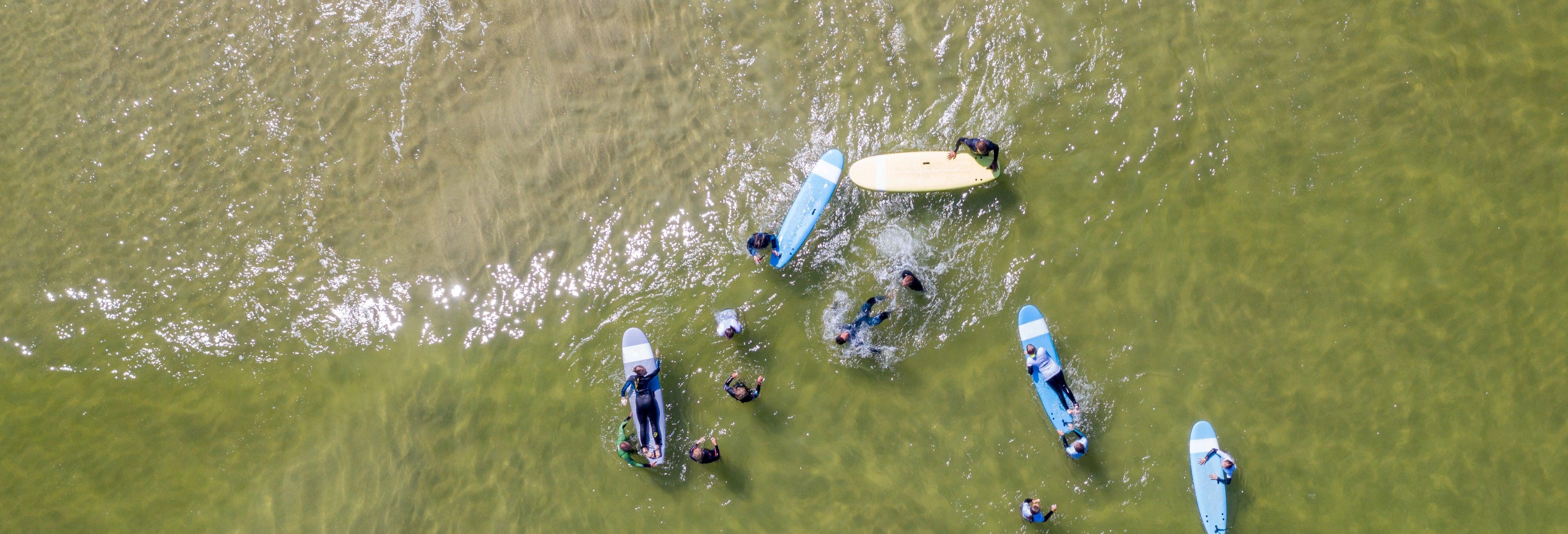 Curso de surfe em Vila Nova de Milfontes