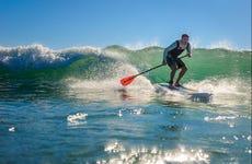 Paddle surf por Vila Nova de Milfontes