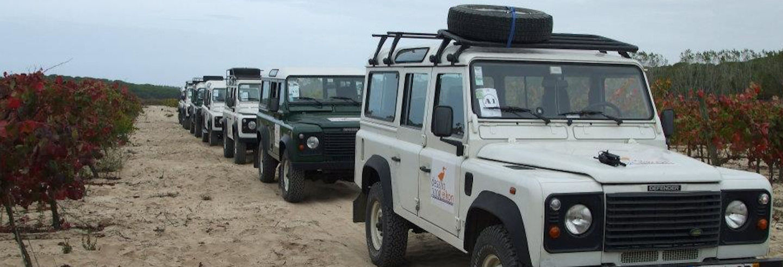 Jeep safari nell'est dell'Algarve