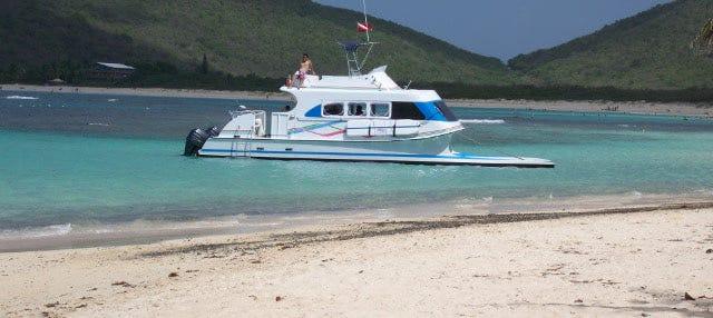 Excursión a isla Culebra en catamarán