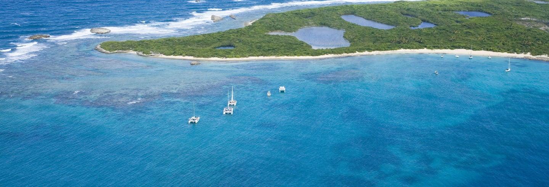 Catamaran Yacht Cruise to Icacos Island