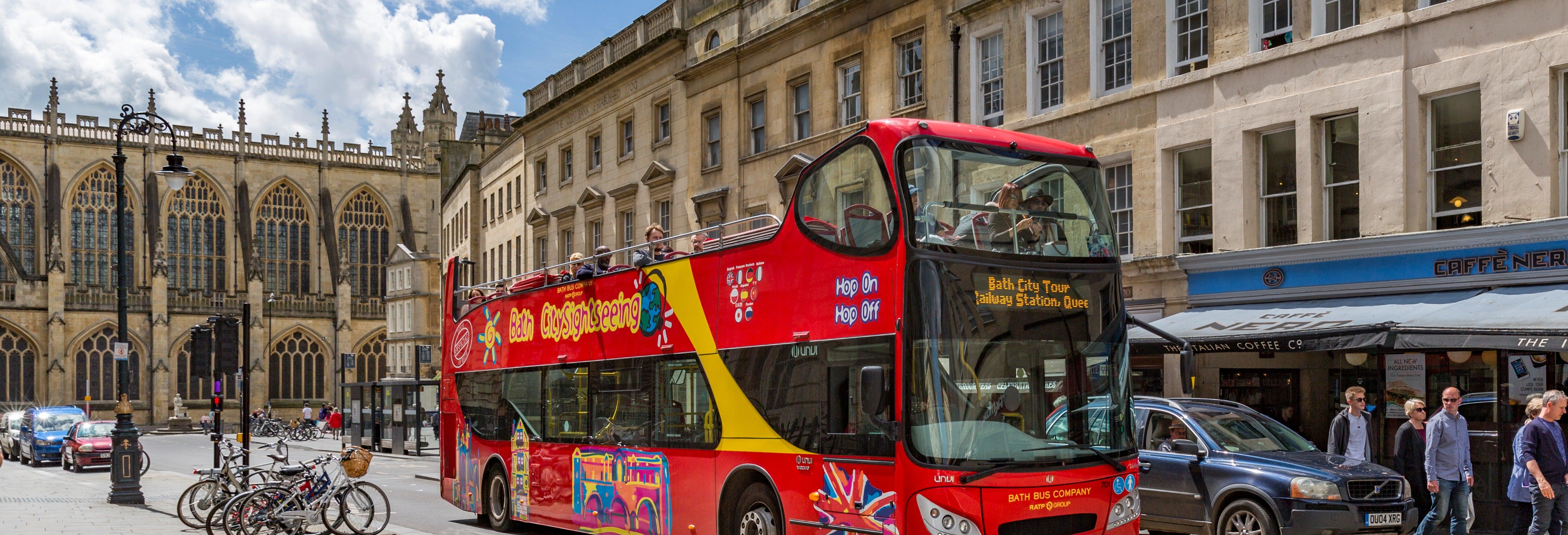 Bus touristique de Bath