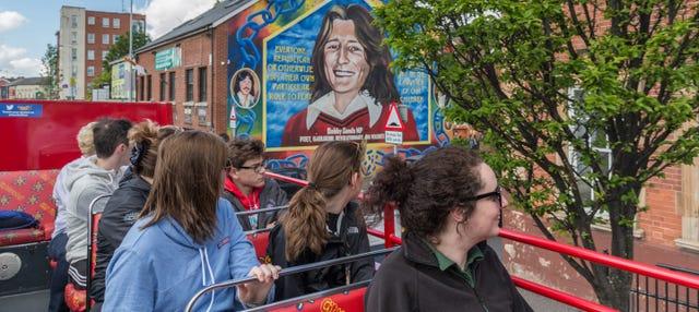 Autobus turistico di Belfast
