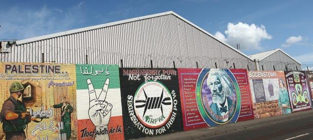 Tour politico di Belfast