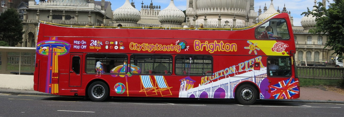 Brighton Hop On Hop Off Bus Tour